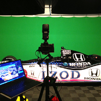 Image of Honda gig with Green Screen